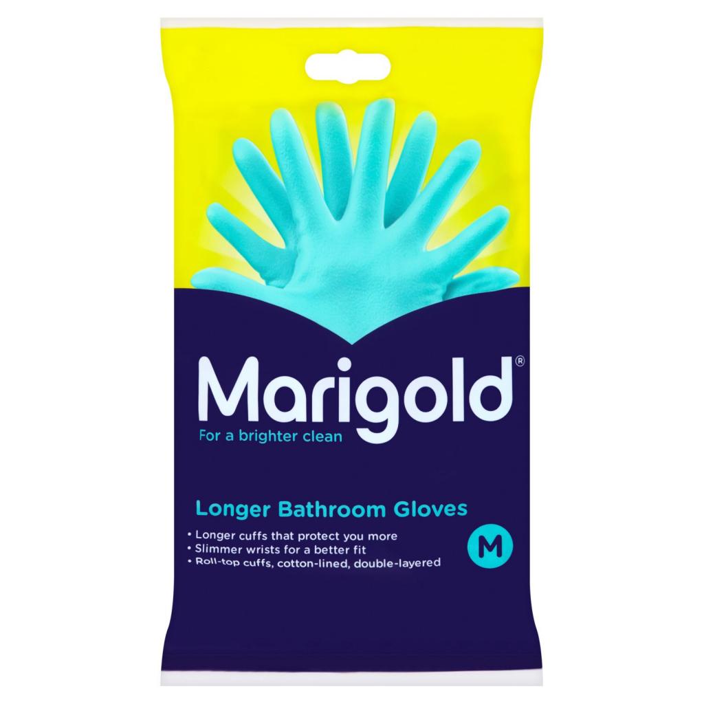 Marigold Bathroom Gloves - Medium 6s