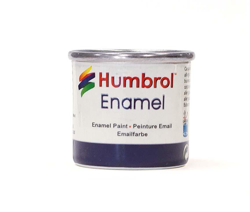 Humbrol Satin 14ml - No 85 Coal Black