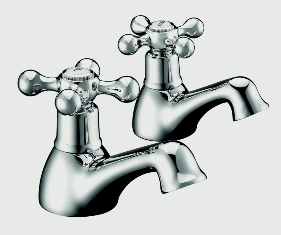 SP Traditional Basin Taps - W: 45mm H: 85mm D: 131mm
