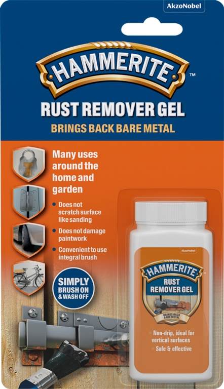 Hammerite Rust Remover Gel - 100ml Blister