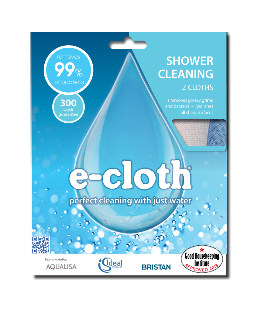 E-Cloth Shower Cleaning Pack - 2 Cloths