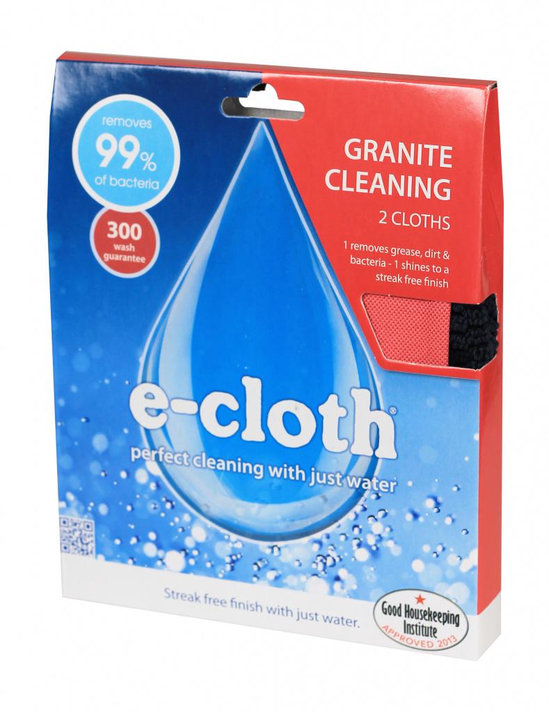 E-Cloth Granite Pack - Pack 2
