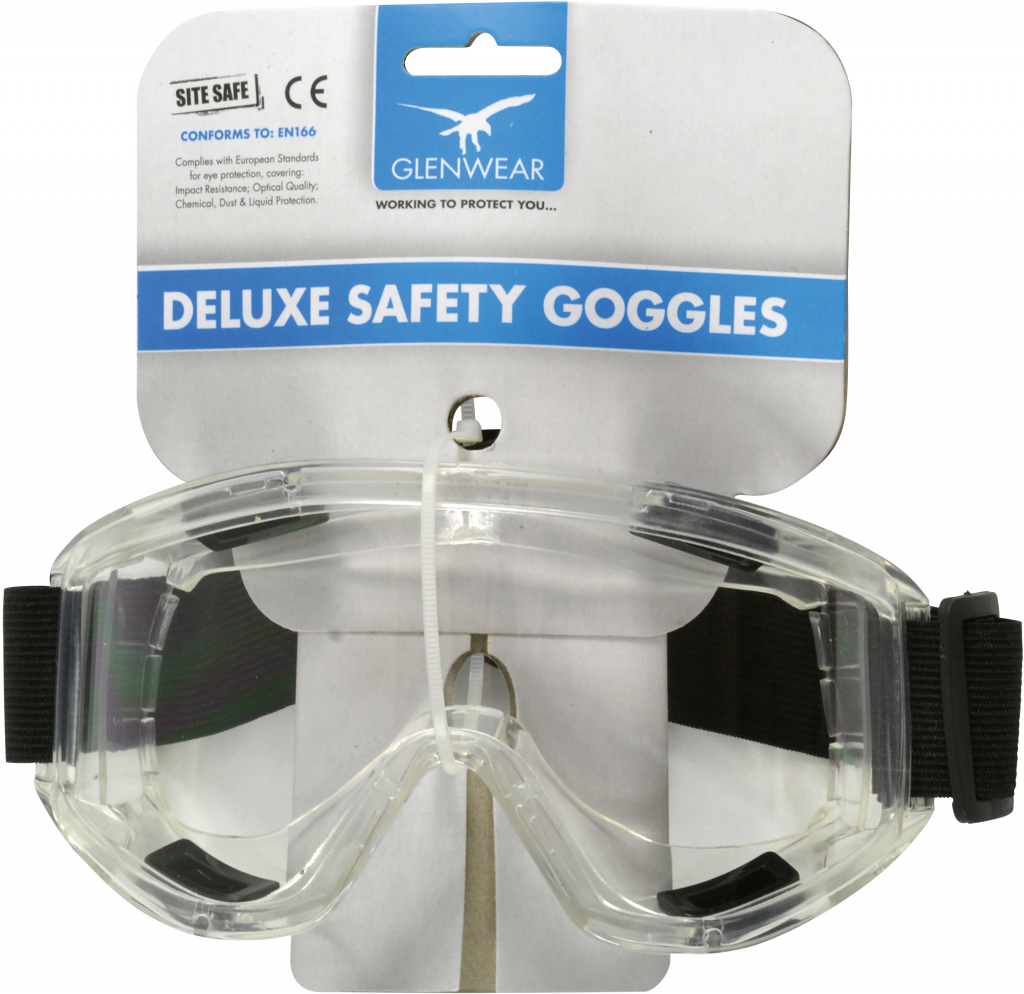 Glenwear Deluxe Safety Goggles