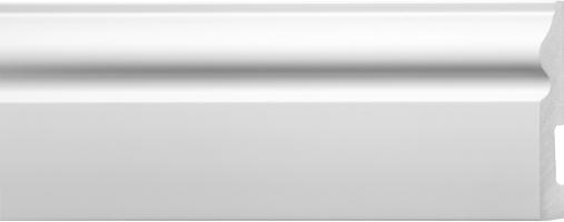Emafyl White Skirting - 100mm x 2.9m