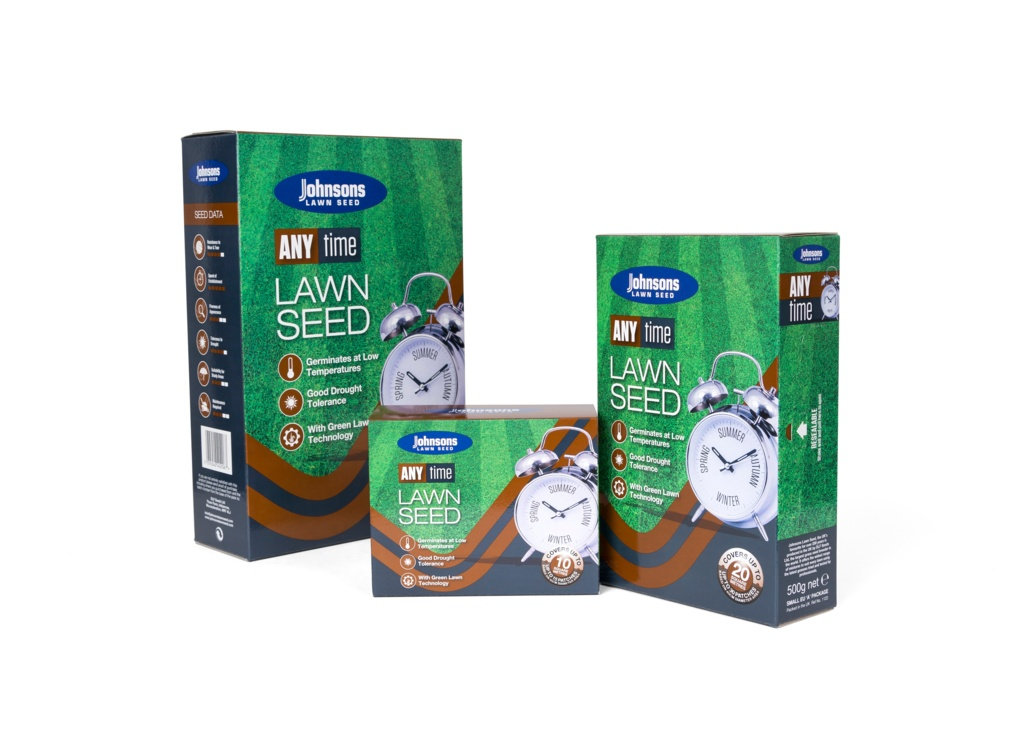 Johnsons Lawn Seed Any Time - 60sqm