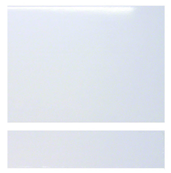 Cavalier 700mm MDF Bath End Panel - White