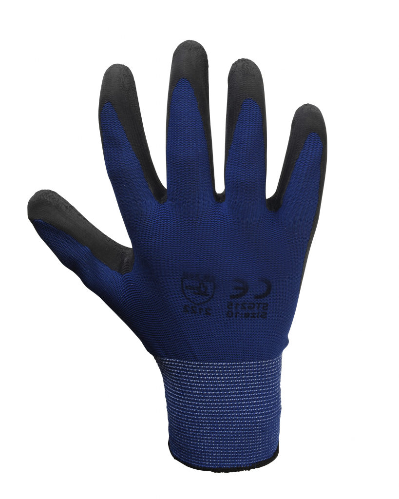Glenwear Latex Lightweight Glove - 9 - L