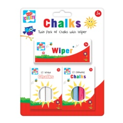 Anker Twin Pack Of Chalks With Wiper