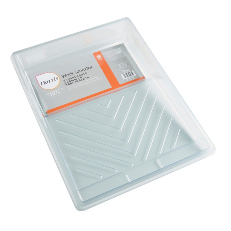 "Harris Seriously Good Paint Tray Liners - 9"" 5 Pack"