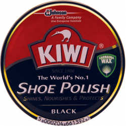 Kiwi Black Shoe Polish - 100ml