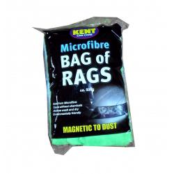 Kent Car Care Microfibre Bag Of Rags