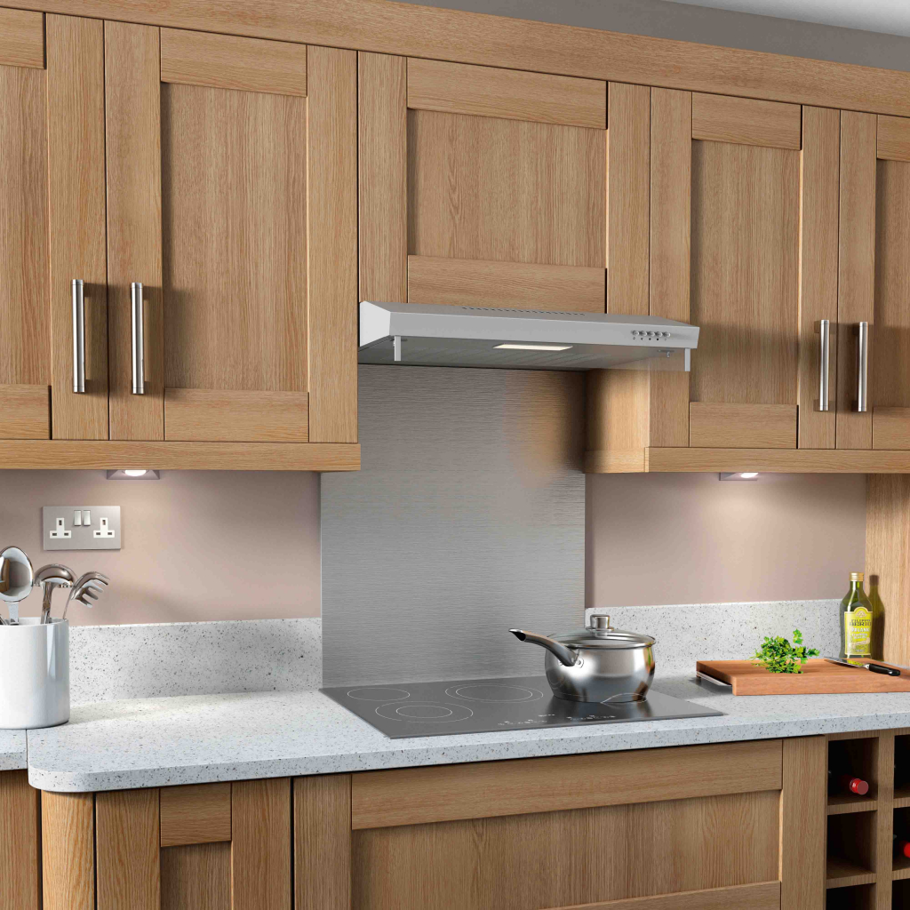Kitchenplus Stainless Steel Extractor Hood - 600mm