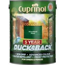Cuprinol Ducksback Woodland Moss 5l