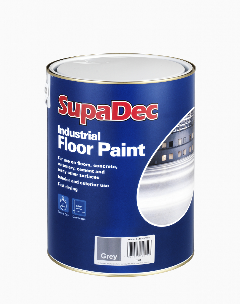 SupaDec Industrial Floor Paint 5L - Slate Grey