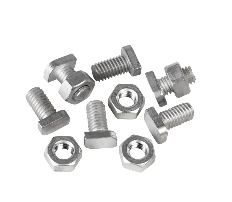 Ambassador Cropped Head Bolts & Nuts - Pack 20