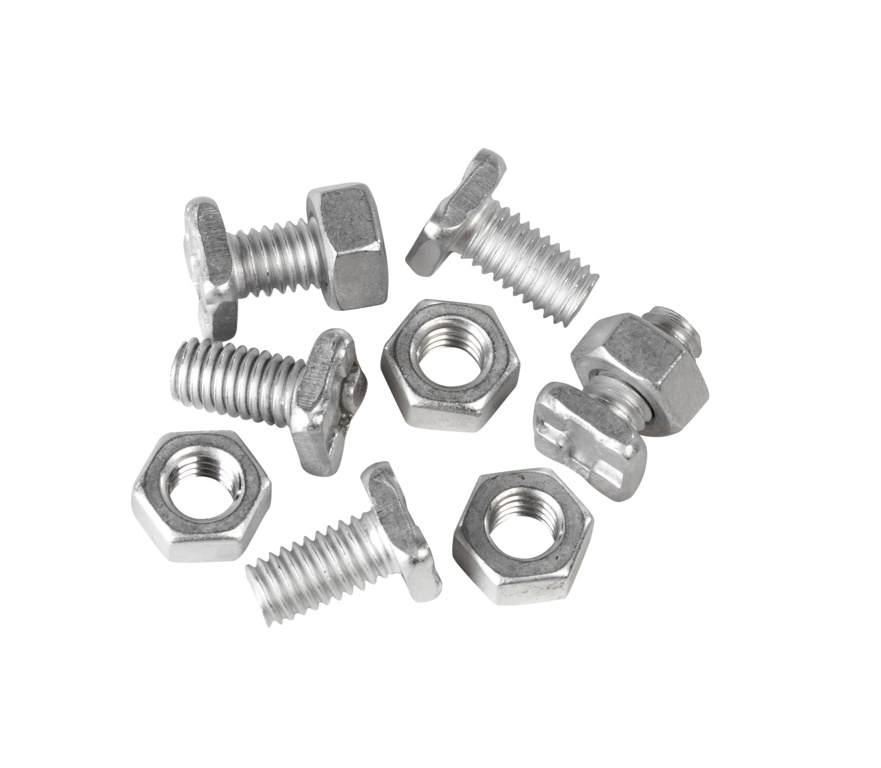 Ambassador Head Bolts & Nuts - Pack 20