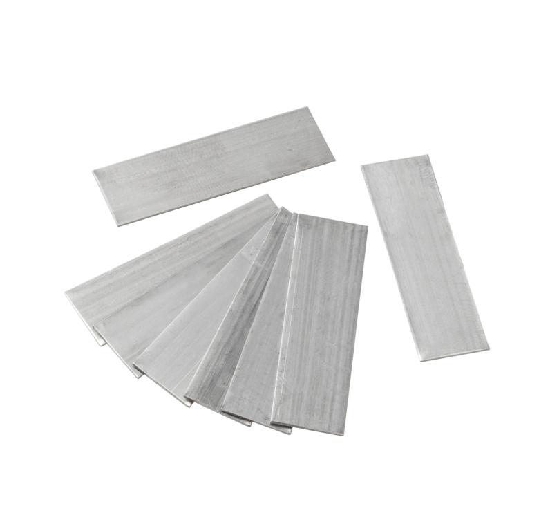 Ambassador Aluminium Lap Strips - Pk50
