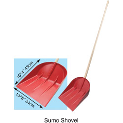 JPR Sumo Snow Shovel And Handle