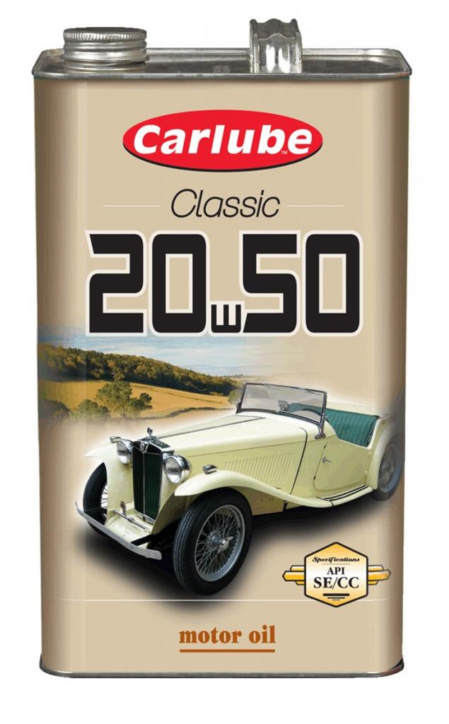 Carlube 20W-50 Classic Oil - 4.55L