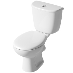 SupaPlumb Close Coupled Toilet In A Box