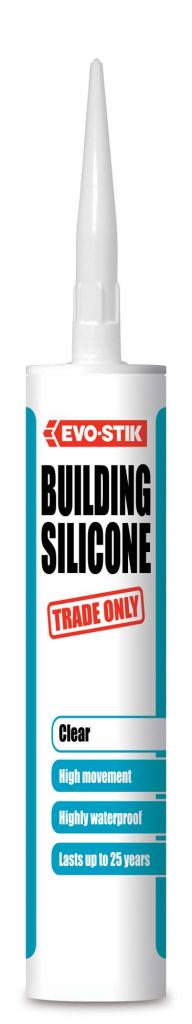 Evo-Stik Building Silicone - Clear