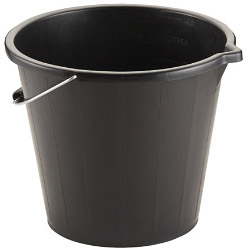 TML 3 Gallon Bucket - Black