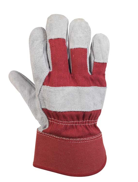 Glenwear Red Leather Glove - 10.5