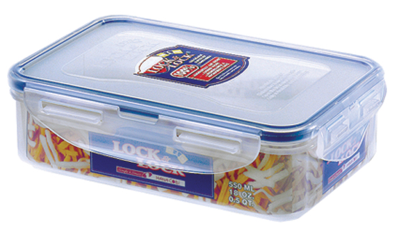 Lock & Lock Rectangular Container - 550ml