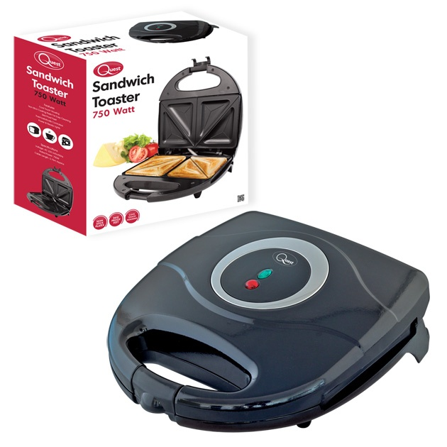 Quest Sandwich Maker - Black