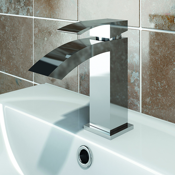 SP Aero Basin Mixer Tap - H: 156mm D: 213mm W: 224mm
