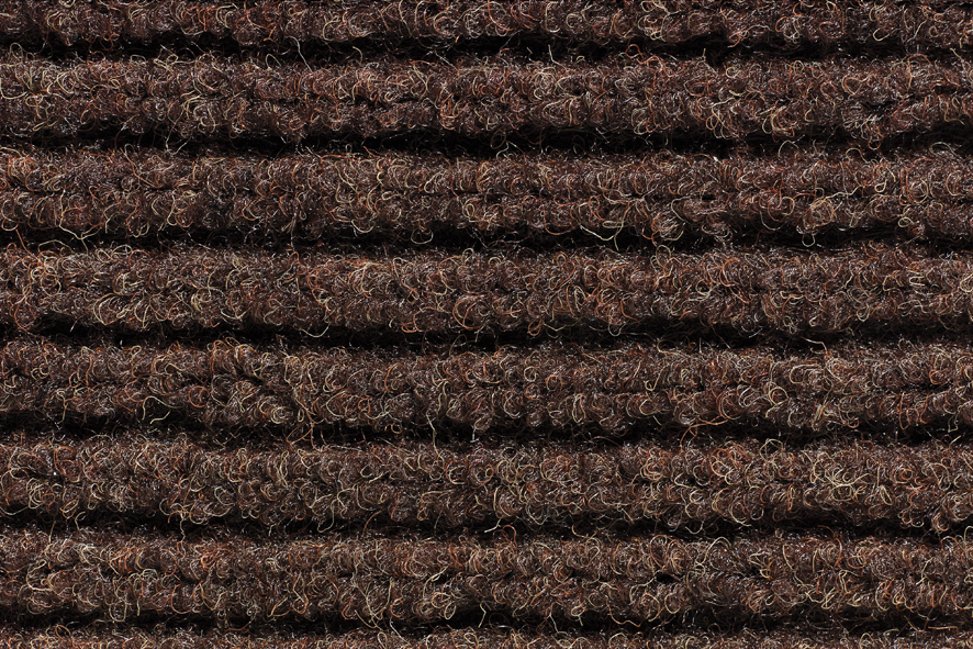 Bruce Starke Trio Rib Door Mat - 40 x 60cm Brown