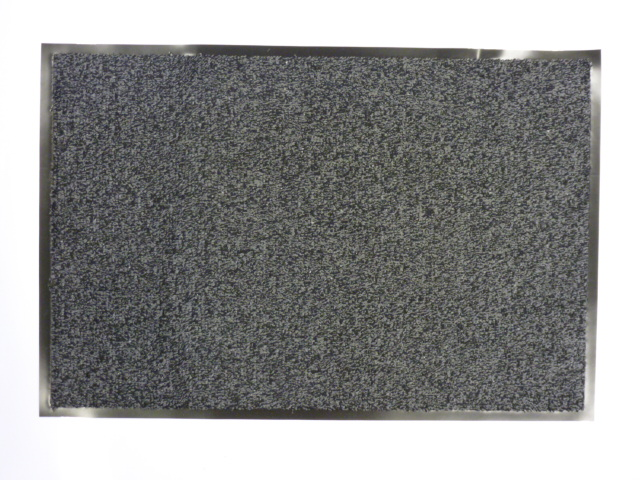 Bruce Starke Kingston Door Mat - 50 x 75cm Cotton Anthracite