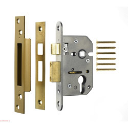 Era Euro Pro-fit Sashlock 76mm - Finish: Satin