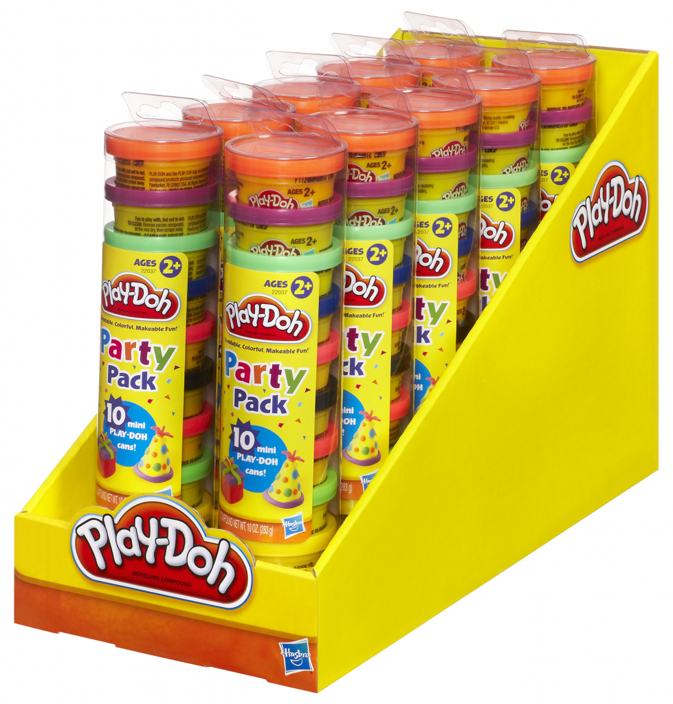 Play Doh Party Pack In Tube