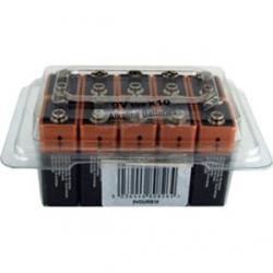 Duracell 9V Battery - Tub of 10