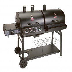 Chargriller Duo Gas Charcoal Barbecue Side Burner