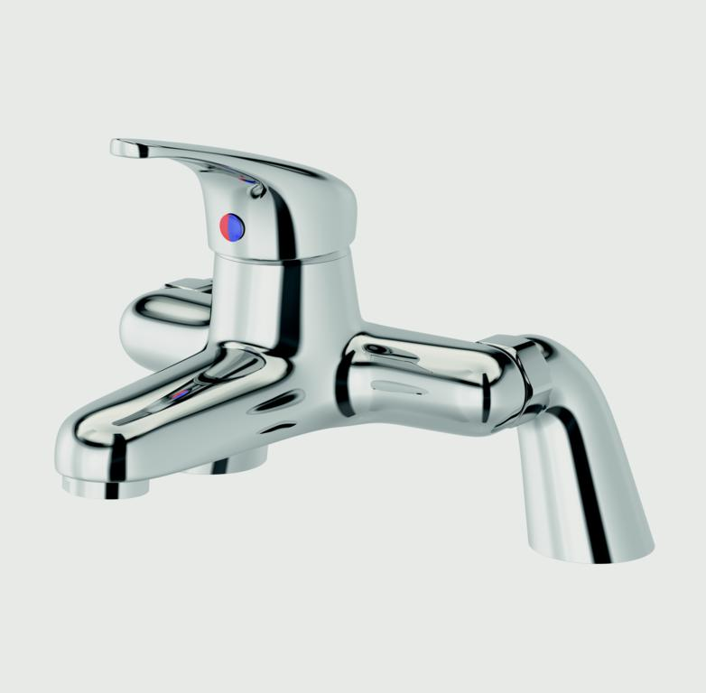 SupaPlumb Eden Bath Filler Tap - W: 231mm H: 167mm D: 201mm