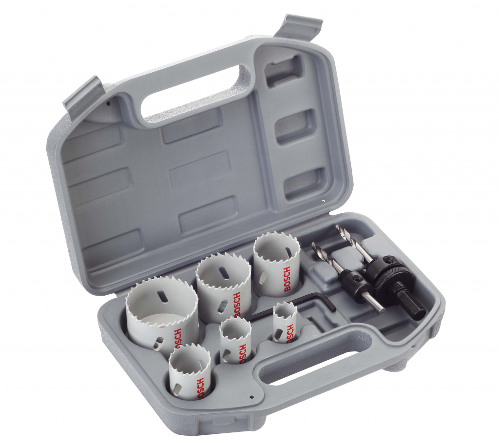Bosch Plumber's HSS Bi Metal Holesaw Kit - 9 Piece