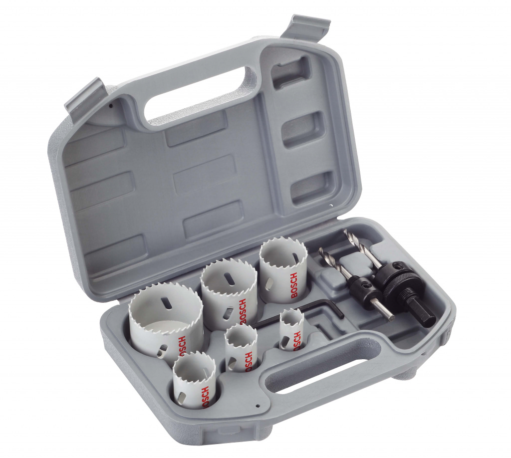 Bosch Electrician's HSS Bi Metal Holesaw Kit - 9 Piece