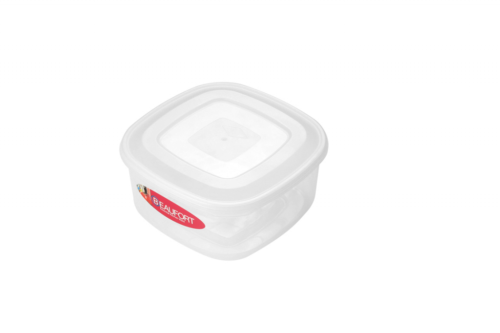 Beaufort Food Container Square Clear - 1.5L