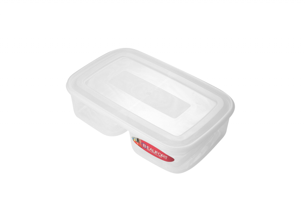 Beaufort Food Container Square 2 Section - 13L