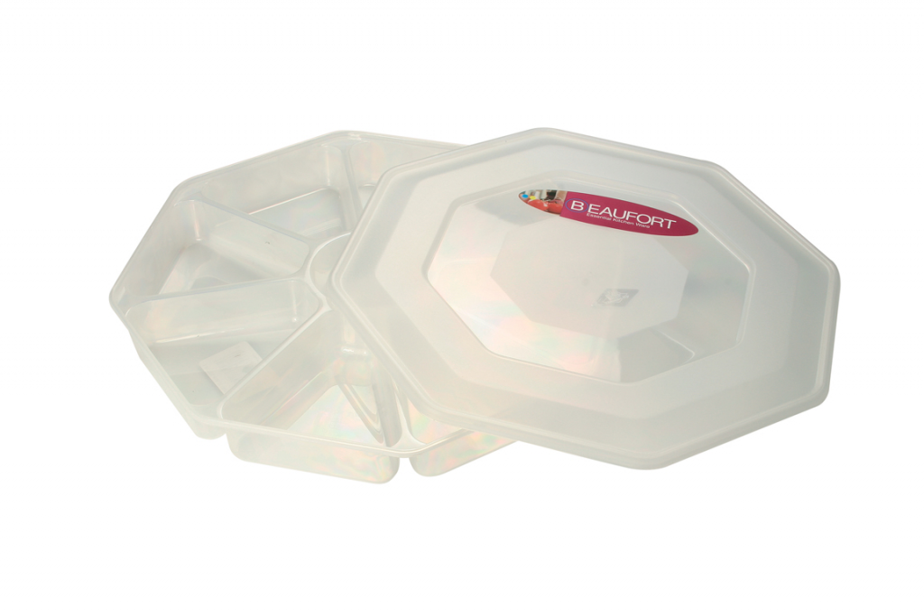 Beaufort Nibbles Tray 8 Section - 13L