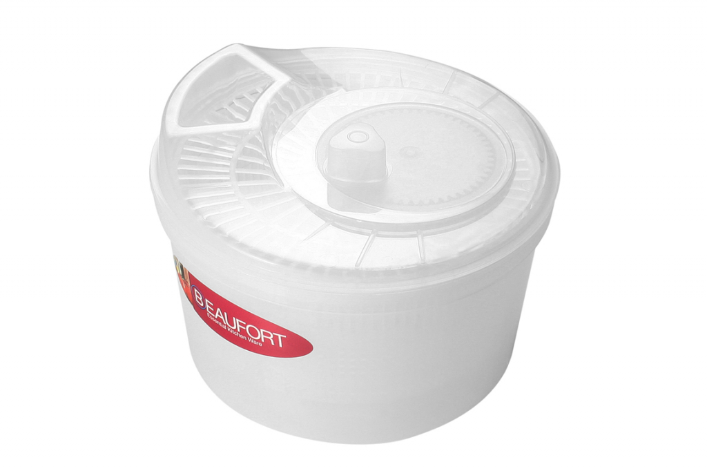 Beaufort Wash N Dry Salad Spinner - Clear