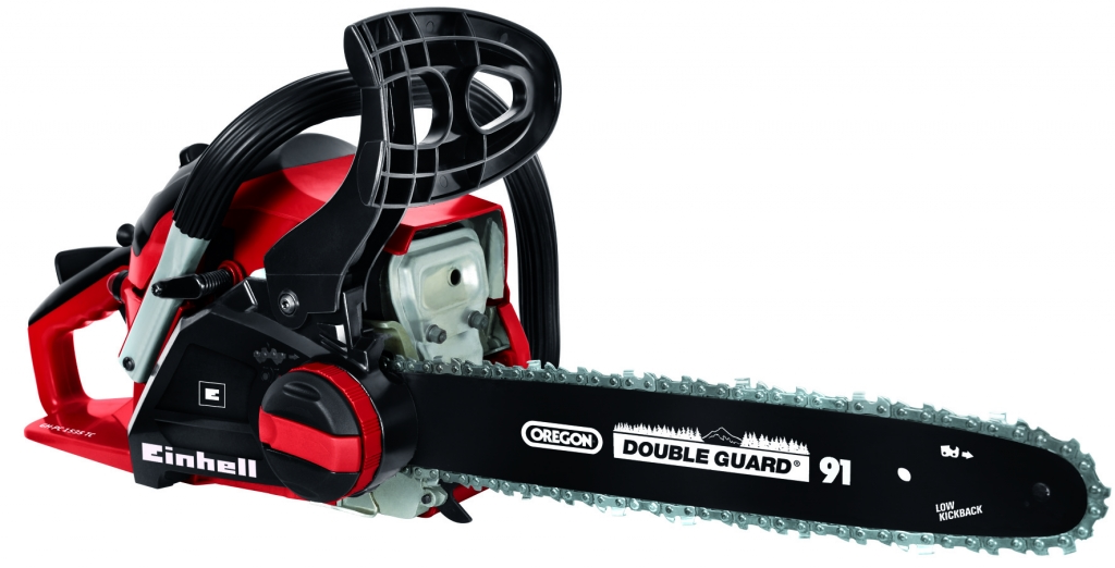 Einhell Petrol Chainsaw with Toolless Chain Tensioning - 41cc 1.5kw 11000 1/min