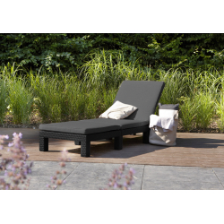 Allibert Daytona Sunlounger with Cushion