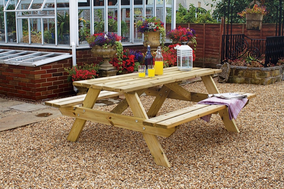 Woodshaw Appleton Picnic Bench - 1.8m
