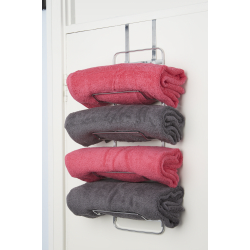 Croydex Hook Over Door Towel Rack