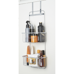 Croydex Hook Over Door Storage Basket