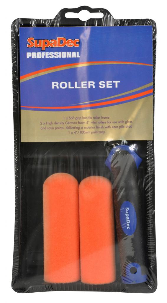 SupaDec Roller Set - 4 Piece