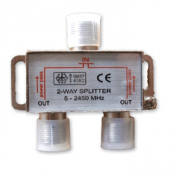 Lyvia 2 Way Splitter - 5-2400Mhz